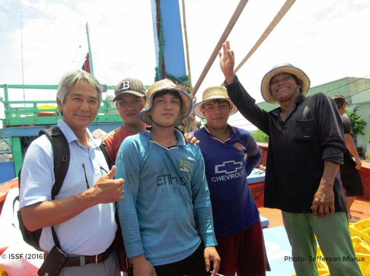 Purse Seine Fishers at Quy Nhon
