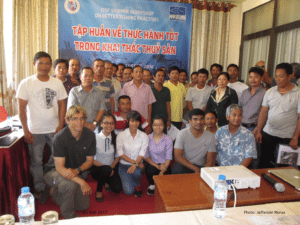Participants at the ISSF Skipper Workshop of Quy Nhon (Vietnam), 2016
