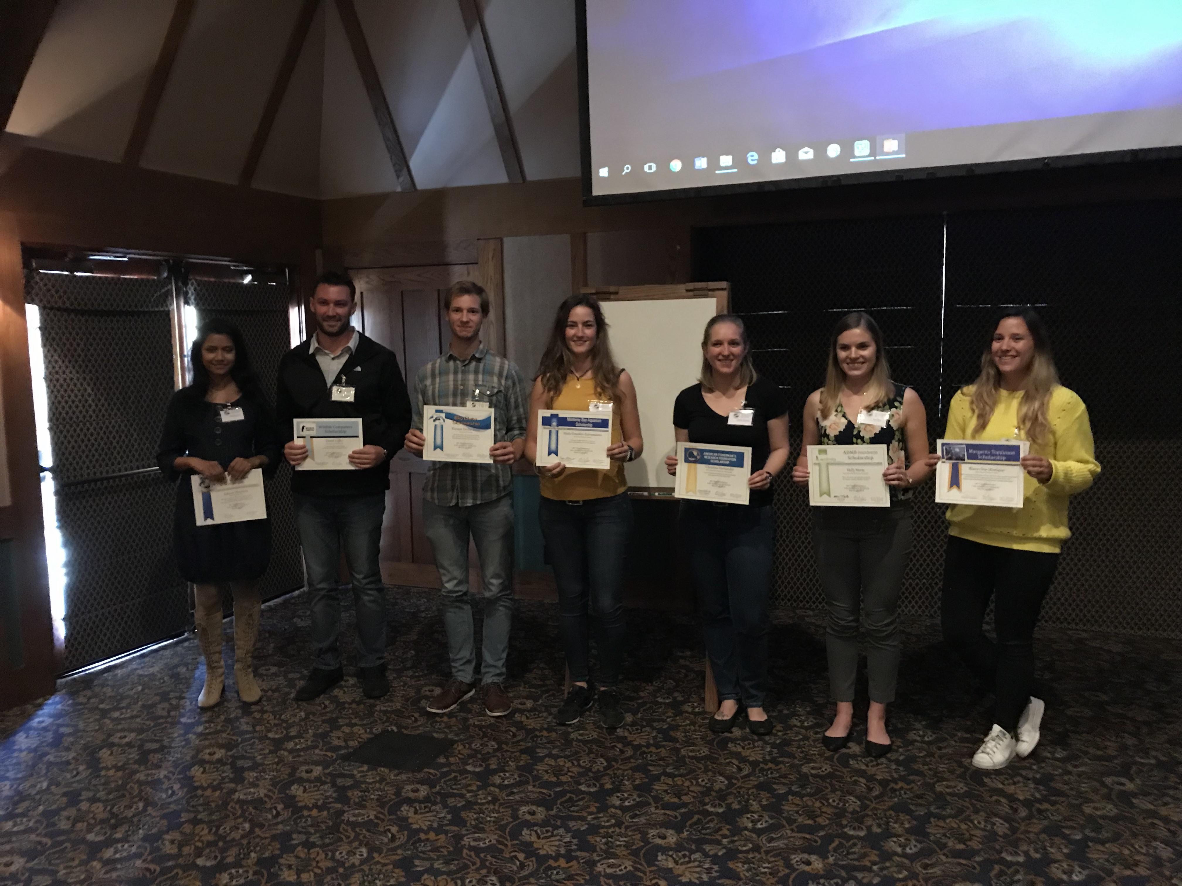 2018 Tuna Conference Scholars   International Seafood Sustainability