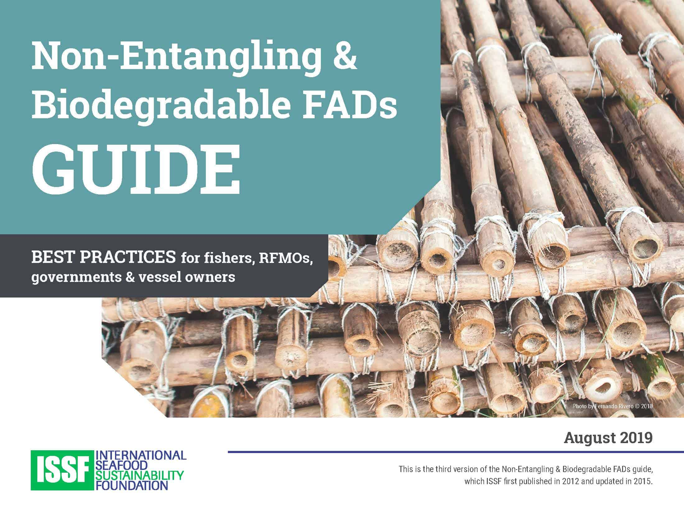Non-Entangling and Biodegradable FADs Guide